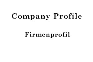 Firmenprofil